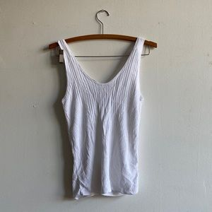 & Other stories white tank